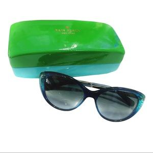 KATE SPADE NEW YORK Olivia Sunglasses + Case